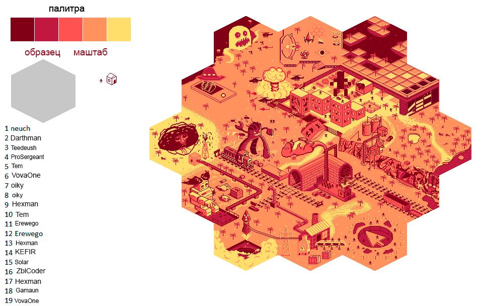 Pixel Art Collab II